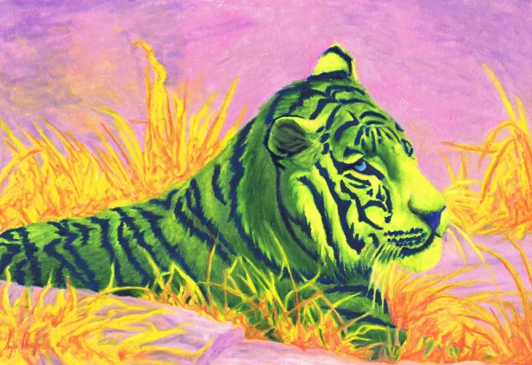 neon animals tiger dec 2017 small