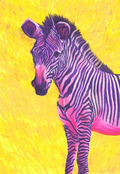 neon animals zebra dec 2017 small