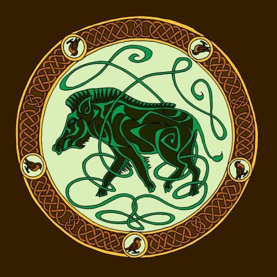 boar colour 2 - green tn