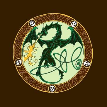 dragon colour 1 - green tn